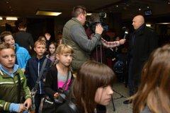 Trapas nepřežiju! v Hybernii - pan starosta Lomecký a novináři